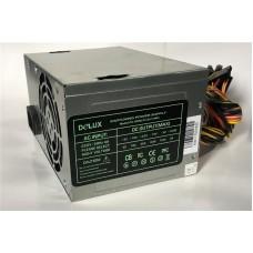 Блок живлення Delux  400Вт DLP-23MSS ATX, 80мм, PPFC, 2xSATA