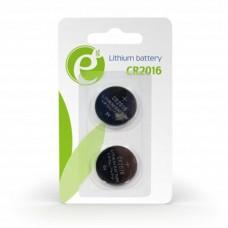 Батарейка CR2016 EnerGenie літієва (EG-BA-CR2016-01) 1шт