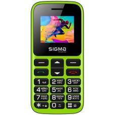 """Мобільний телефон Sigma Comfort 50 HIT2020 Green (4827798120941) Кількість SIM-карт - 2 SIM, діагональ екрану - 1.77"""", роздільна здатність екрану - 128x160, оперативна пам'ять - 32 Mb, вбудована пам'ять - 32 Mb, основна камера - 0.3 Mpx, єм"""