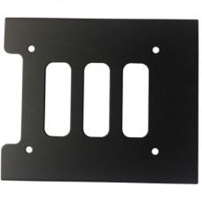 """Крепление Maiwo K4 для HDD/SSD 2.5"""" в отсек 3.5"""" черный"""
