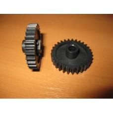 Шестерня резинового вала HP 1000/1200 29T аналог RA0-1088-000 АНК (21230)
