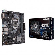 Мат. плата 1151 ASUS PRIME H310M-K R2.0 mATX / 2xDDR4 / PCIeх16 / VGA / DVI
