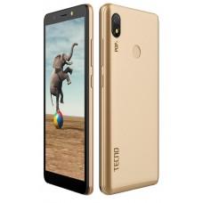 "Смартфон Tecno Pop 3 BB2 1/16GB Champagne Gold (4895180751271) 5.7"" (960х480) TN / MediaTek MT6580 / ОЗУ 1 ГБ / 16 ГБ вбудованої + microSD до 64 ГБ / камера 5 Мп + 8 Мп / 3G (WCDMA) / Bluetooth / Wi-Fi / GPS / A-GPS / ОС Android 8.1 (Oreo) / 157.5x75"