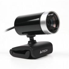 Веб-камера A4 Tech PK-910H (Silver+Black) Full-HD, USB 2.0