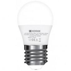 Лампа LED Kodak G45 E27 6W 220V Тепл.Бел. 3000K Мат. н/Дим.