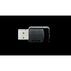 WiFi адаптер USB D-Link DWA-171 802.11ac 150Mbps-2.4GHz or 433Mbps-5GHz