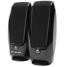 Акустика 2.0 Logitech S-150 Black, 2х0.6 Вт, питание USB, OEM  (980-000029)