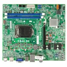 Мат. плата 1150 ECS H81H3-EM2 mATX / 2xDDR3 / 1xPCIE2.0x16 / VGA / HDMI / DP