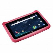 "Планшет Prestigio Smartkids 3197 1/16GB Pink (PMT3197_W_D_PK) 7"" (1024x600) IPS / Rockchip RK3126 / ОЗУ 1 ГБ / 16 ГБ вбудованої + microSD до 128 ГБ / камера 2 Мп + 0.3 Мп / Wi-Fi / Bluetooth / Android 8.1 ( Oreo) / 203 х 139 х 13 мм / 314 г / 2500 мА"