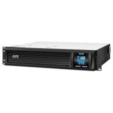 ДБЖ APC Smart-UPS C 1500VA, 900Вт, 4xIEC, USB, LAN, LCD (SMC1500I-2U)