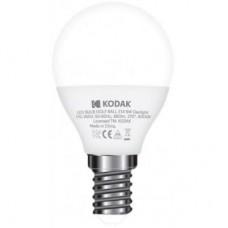 Лампа LED Kodak G45 E14 6W 220V Дневн.Бел. 6000K Мат. н/Дим.