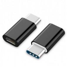 Адаптер USB 2.0 Type-C (папа) - Micro USB (мама) Cablexpert (A-USB2-CMmF-01)