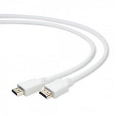 Кабель HDMI to HDMI  3.0м Cablexpert (CC-HDMI4-W-10) 19M/M v1.4, золотистые коннекторы