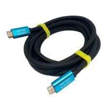 Кабель HDMI to HDMI  3.0м Merlion 4Kx2K Ultra HD v2,0 Black-Blue (YT-HDMI(M)/(M)4KV2.0-3.0m) 19118