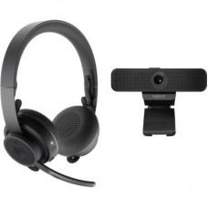 Веб-камера Logitech Personal Video Collaboration Kit (Zone Wireless + C925e) (991-000311)