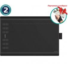 Графічний планшет Huion Inspiroy H1060P + перчатка