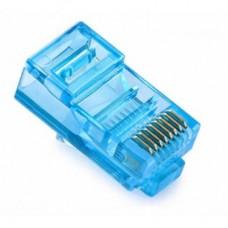 Коннектор RJ-45 cat.5e UTP 8P8C Merlion Blue (RJ45ML-BL) 05355