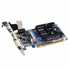 Відеокарта PCI-E nVidia GT 210 GIGABYTE 1ГБ (GV-N210D3-1GI) / DDR3 / 64bit / 520/1200MHz / VGA / DVI / HDMI