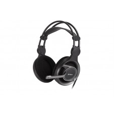 Гарнітура A4-Tech HS-100 (Black) ігрові з мікрофоном і регулятором гучності