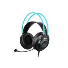 Гарнітура A4-Tech FH200U Black+Blue Fstyler USB Stereo Headphone