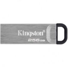 USB флеш накопичувач Kingston 256GB DT Kyson Silver/Black USB 3.2 (DTKN/256GB)