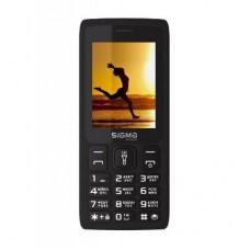 """Мобільний телефон Sigma X-style 34 NRG Black (4827798121719) Кількість SIM-карт - 2 SIM, тип дисплея - QVGA, діагональ екрану - 2.4"""", роздільна здатність екрану - 240x320, процесор - Spreadtrum SC6531E, основна камера - 0.3 Mpx, ємність акумулятора -"""