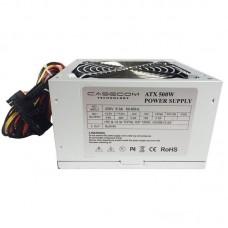 Блок живлення Casecom  500Вт CM 500 ATX, 120мм, APFC, 2xSATA