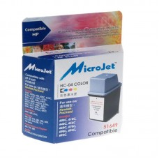 Картридж MicroJet HP № 49 Color (HC-04)