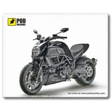 """Коврик Podmyshku, с изображением """"Ducati Diavel"""""""