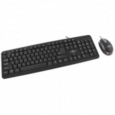 Комплект клавиатура+мышь Esperanza Black USB (TK106UA)