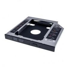 Фрейм-перехідник Grand-X HDD 2,5'' SATA2/SATA3 12.7 мм (HDC-25С) для подключення HDD 2.5 '' у відсік ODD