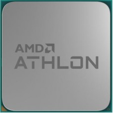Процесор AM4 AMD Athlon 3000G 2 ядра / 4 потока / 3.5ГГц / 4МБ / Radeon Vega 3 (1100МГц) / DDR4-2667 / PCIE3.0 / 35Вт / Tray+кулер (YD3000C6FHMPK)