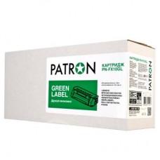 Картридж PATRON CANON FX-10 GREEN Label (PN-FX10GL) 2000стр.