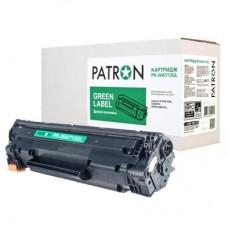 Картридж PATRON HP LJ CB435A/CANON 712 GREEN Label (PN-35A/712GL) 1500стр.