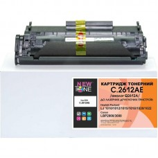 Картридж NewTone HP LJ 1010/1020, Canon LBP-2900 аналог Q2612A/Canon 703 Black (C.2612AE)