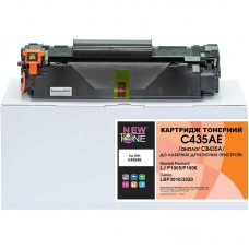 Картридж NewTone HP LJ P1005/P1006, Canon 712 аналог CB435A Black (C435AE)