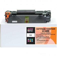 Картридж NewTone HP LJ P1102/M1132/M1212 Canon 725 аналог CE285A Black (LC48E)