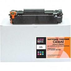 Картридж NewTone HP LJ P1505/M1120/1522 аналог CB436A Black (C436AE)