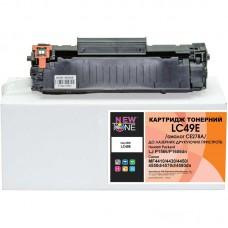Картридж NewTone HP LJ P1566/1606/M1536, Canon 728 аналог CE278A Black (LC49E)