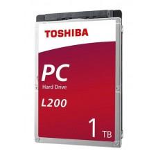 "Жорсткий диск 2.5"" SATA3  1TB 128МВ 5400 Toshiba L200 (HDWL110UZSVA)"