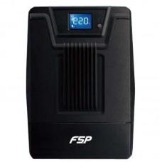 ДБЖ FSP DPV 1000VA 600Вт, 4xSchuko, USB, LCD (DPV1000)