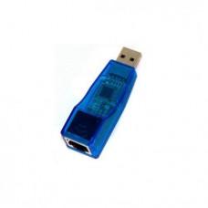 Мережева карта USB2.0 - RJ45 Voltronic Blue 10/100Mbps (FY-1026) 00755