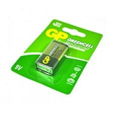 Батарейка 6F22 Крона GP Greencell GP1604GLF-2UE1 9V сольова 1 шт в блістері (GP1604GLF-2UE1) 04623
