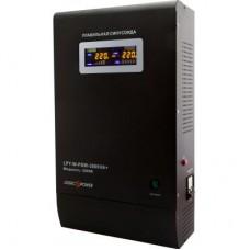 ДБЖ LogicPower LPY-W-PSW-5000VA+ 5000VA, 3500Вт, 2xSchuko, LCD (0004148)