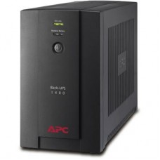 ДБЖ APC Back-UPS 1400VA 700Вт, 6xIEC, RJ-11, USB (BX1400UI)