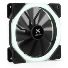 Вентилятор Vinga LED fan-02 120х120х25 мм white