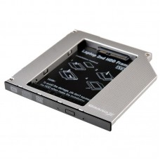 Внутренний карман для HDD Grand-X (HDC-24N) 9.5 mm ODD SATA/mSATA