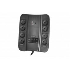 ДБЖ Powercom SPD-650N 650VA, 390Вт, 8xSchuko (00210200)