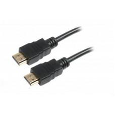 Кабель HDMI to HDMI  1.0м Maxxter (V-HDMI4-1M) 19M/M v1.4, позолоченные коннекторы