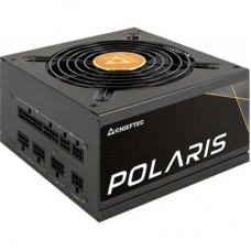 Блок живлення Chieftec  550Вт PPS-550FC Polaris ATX, 120мм, APFC, 6xSATA, 80 PLUS Gold, модульне підключення